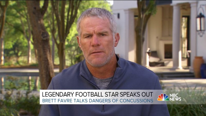 Brett Favre Opens Up About His Traumatic Brain Injuries