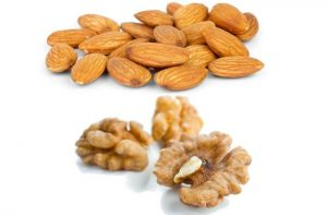 Almonds and Walnuts are good fats